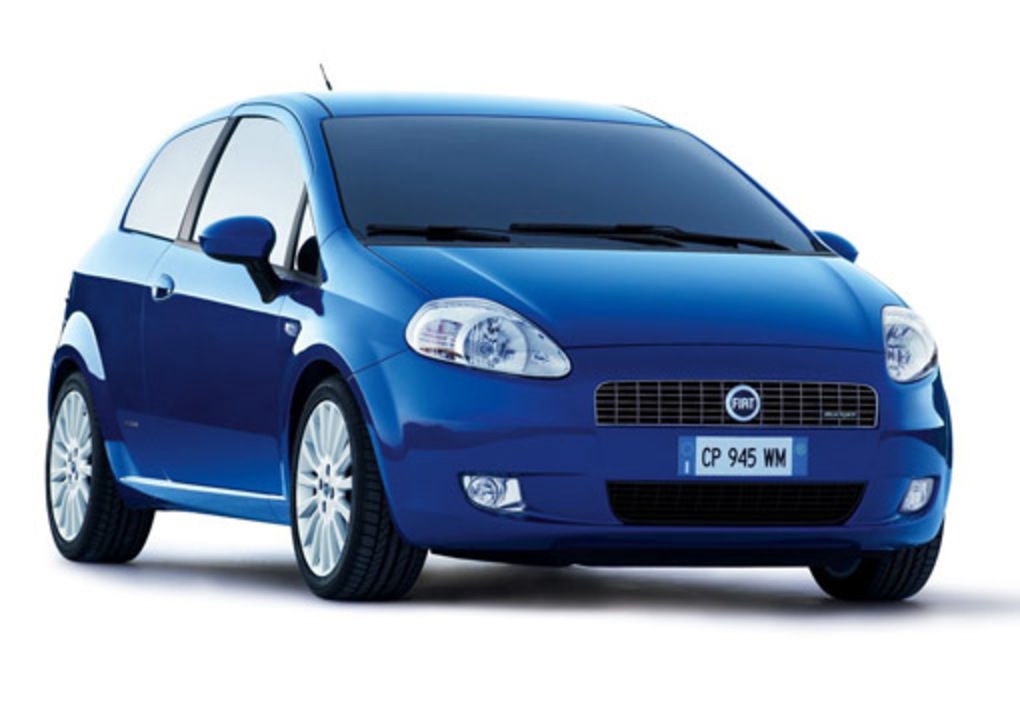 Fiat Punto Grande. The grande is the latest incarnation of the great fiat
