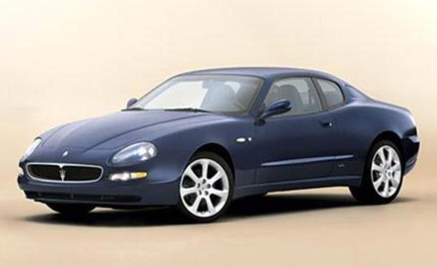 2004 Maserati Coupé Cambiocorsa. Third Place: High-End Sports Coupes