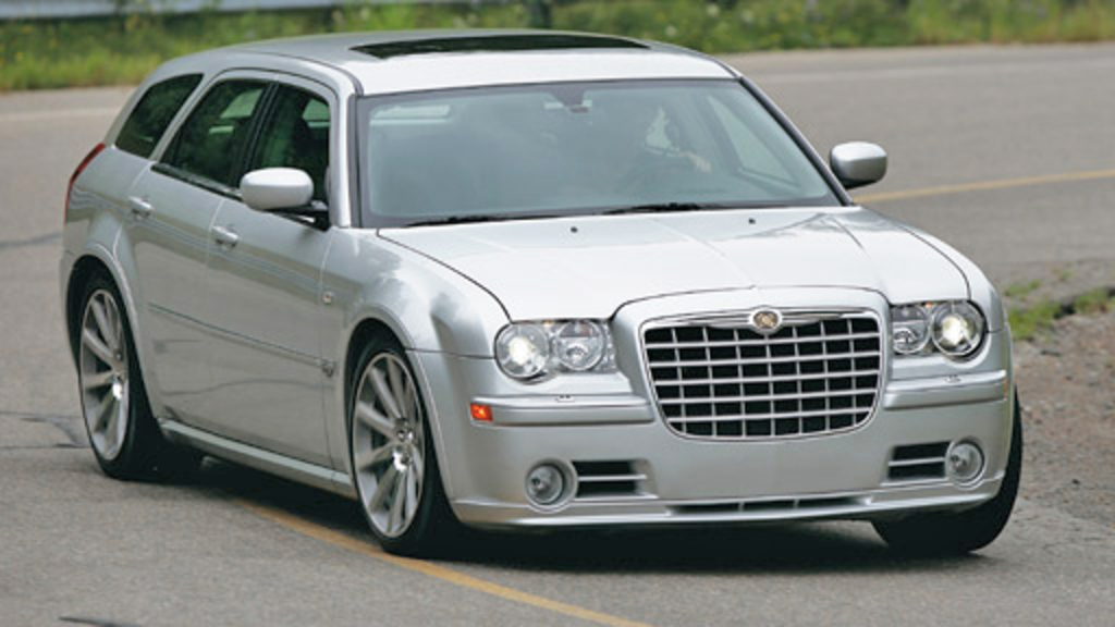 If you think the Chrysler 300C Touring looks good from the outside,