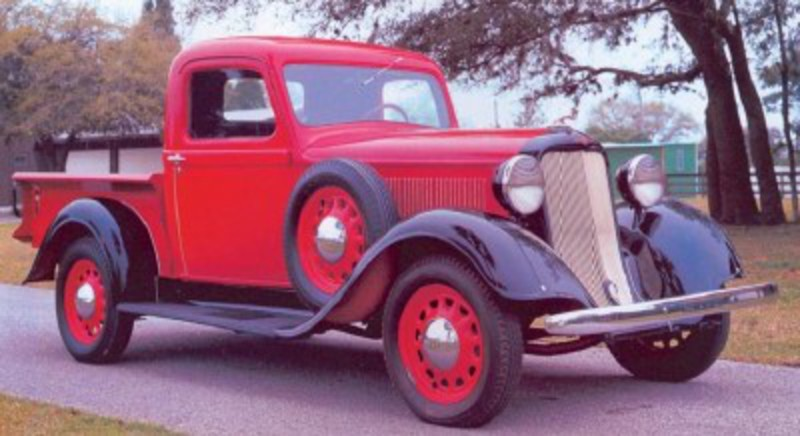 Classic Truck Image Gallery. The 1935 Dodge KC half-ton pickup was one of
