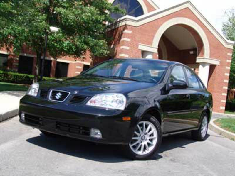 2004 Suzuki Forenza. August 10, 2004 | Cost Conscious By Dan Lyons