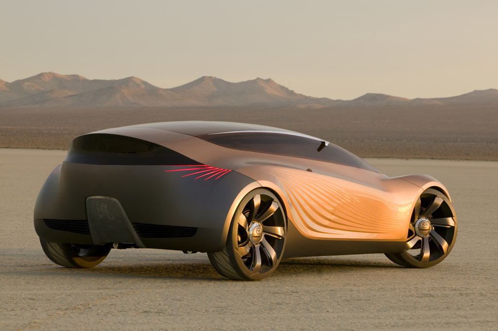 When Mazda unveiled the Nagare concept car at the LA Motor Show in 2006,