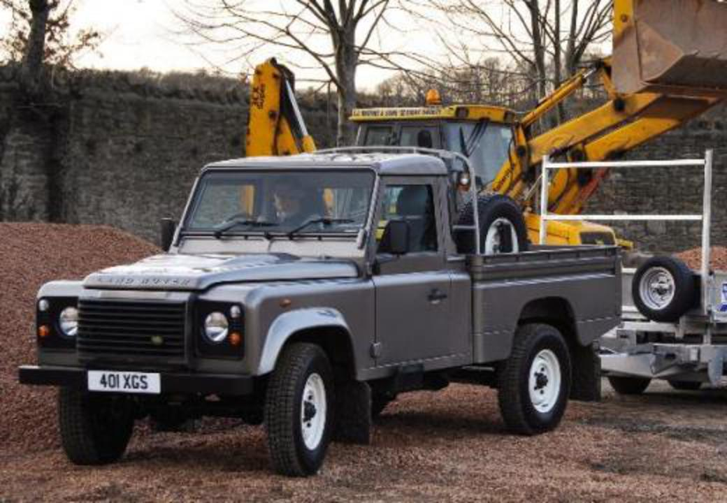 topworldauto photos of land rover defender 110 pick up. Black Bedroom Furniture Sets. Home Design Ideas