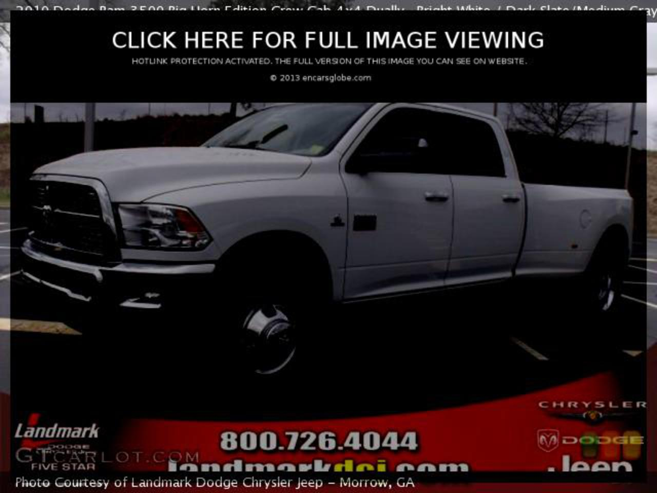 Dodge Ram 3500 Heavy Duty Big Horn Edition: 05 photo