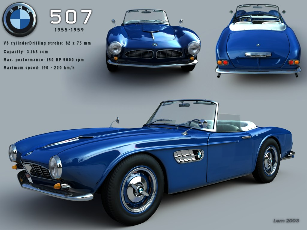 BMW 507 - World Of Classic Cars - Rank 11