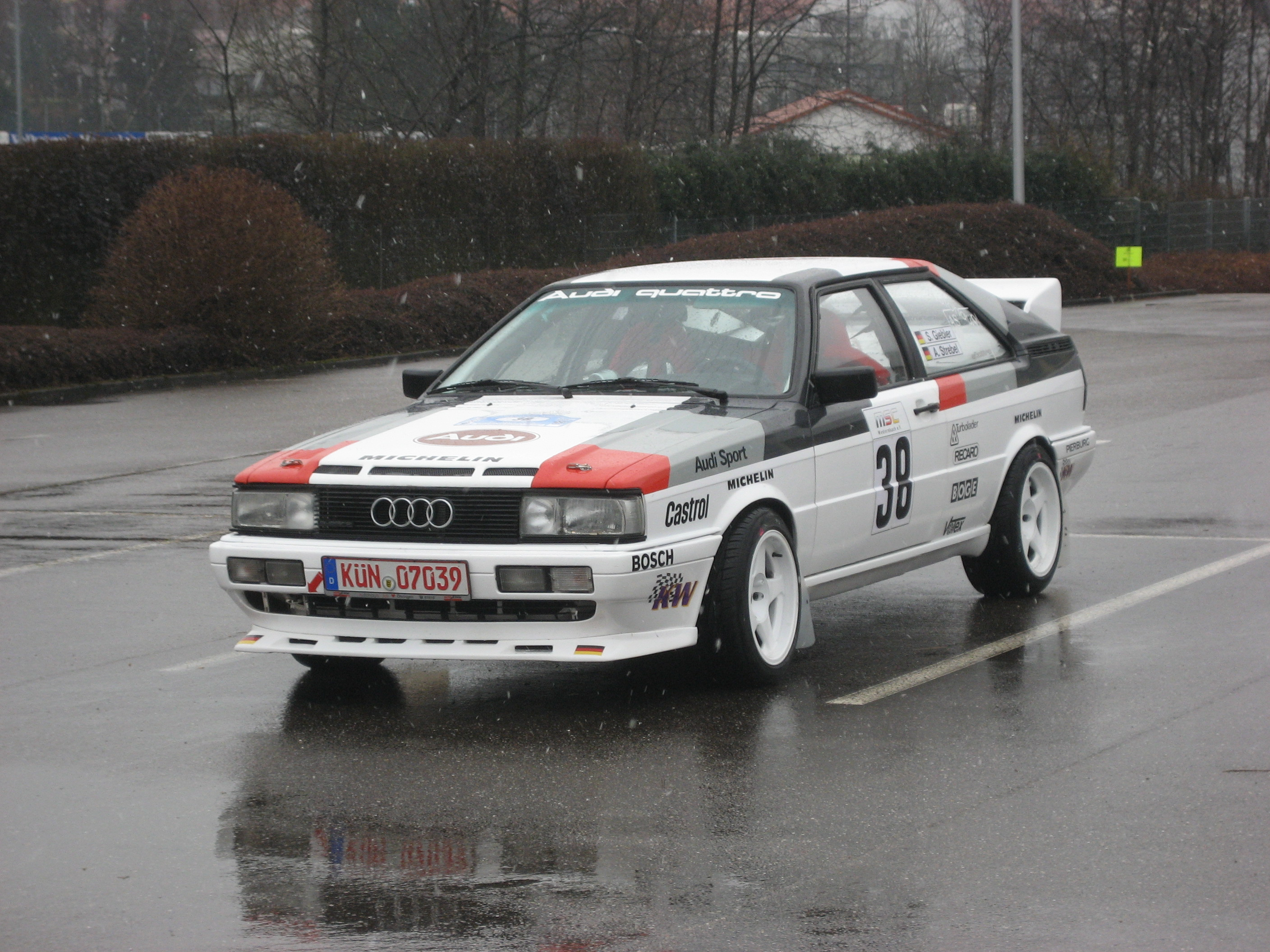Type 85 Audi Coupe quattro Group A rally Gallery