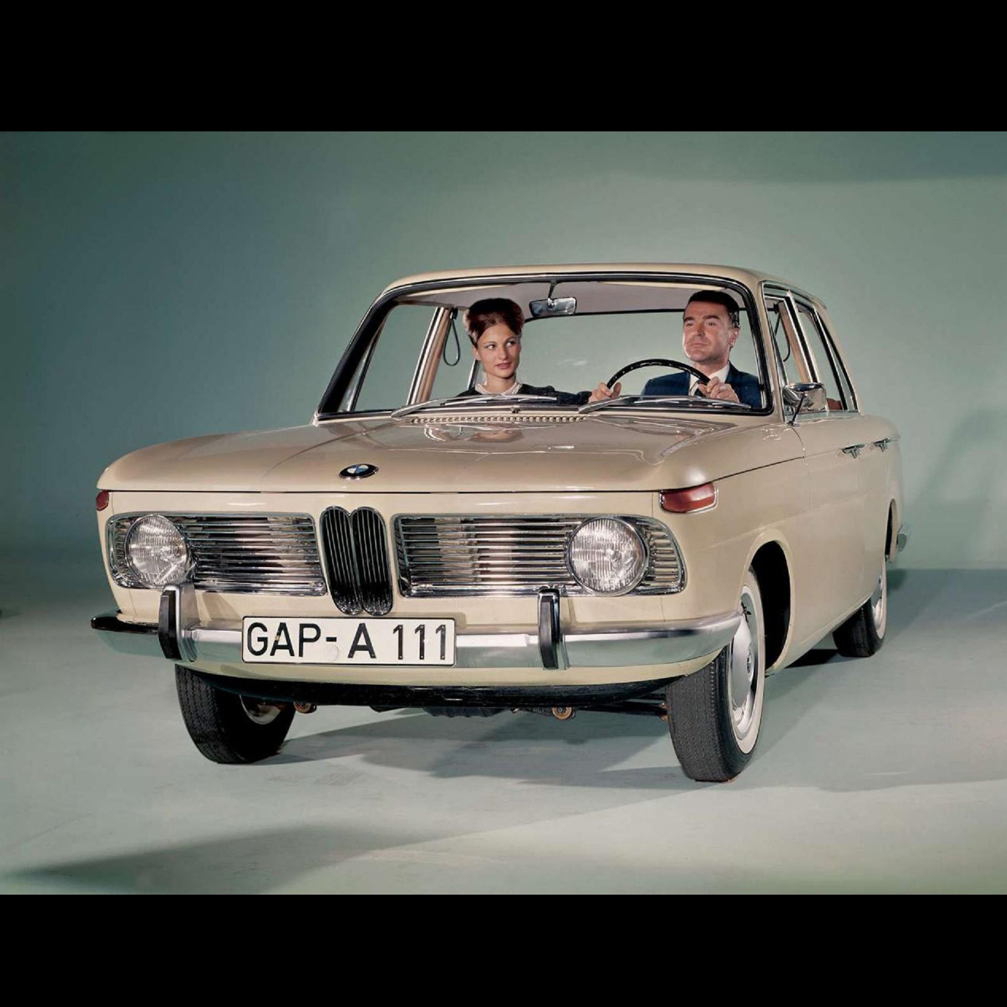 Original: 1962, Old BMW 1500, 001, Cool Cars iPad wallpapers and Backgrounds