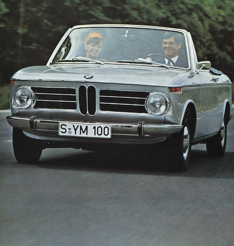 BMW 1600 Cabrio. go back