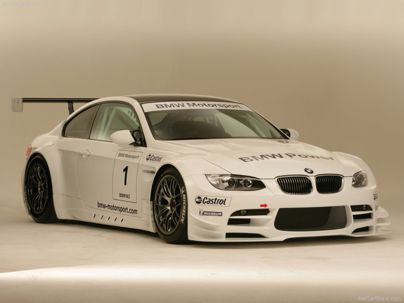 The BMW M3 GTR was powered by a V8 as opposed to the straight 6 which