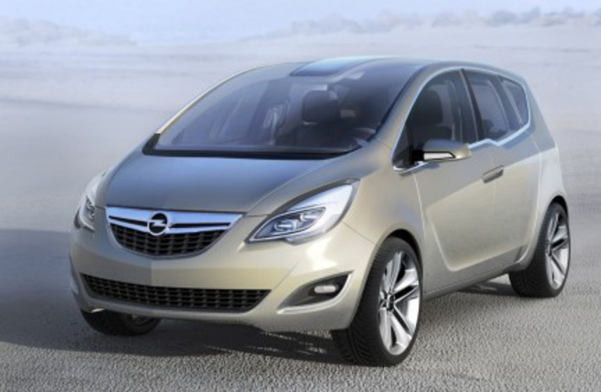 Opel Meriva Concept - the official announcement