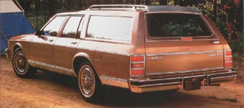 1989 Chevrolet Caprice Estate Wagon The only Caprice wagon offered for 1989