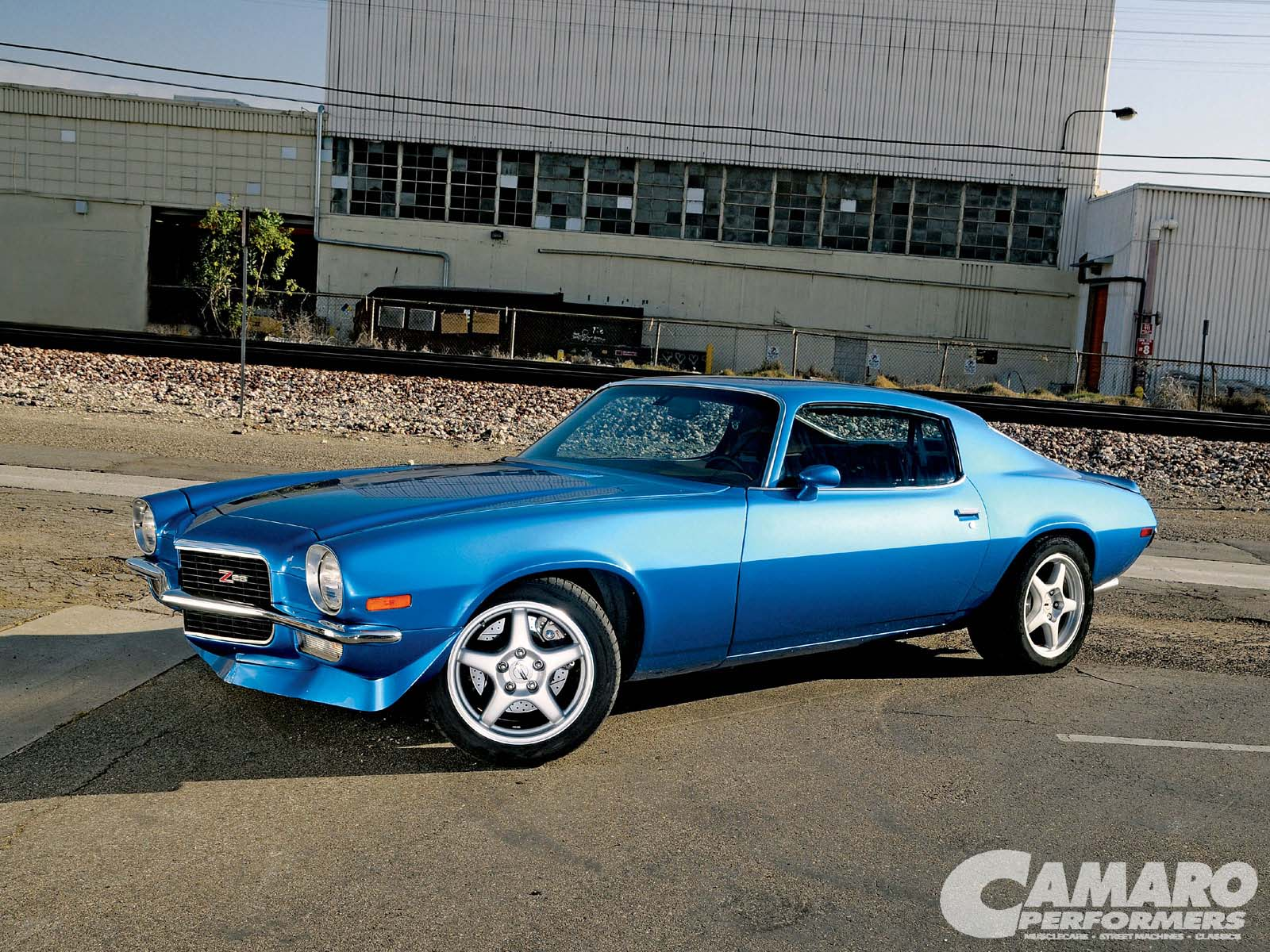 1971 Chevrolet Camaro Z28 Wheels