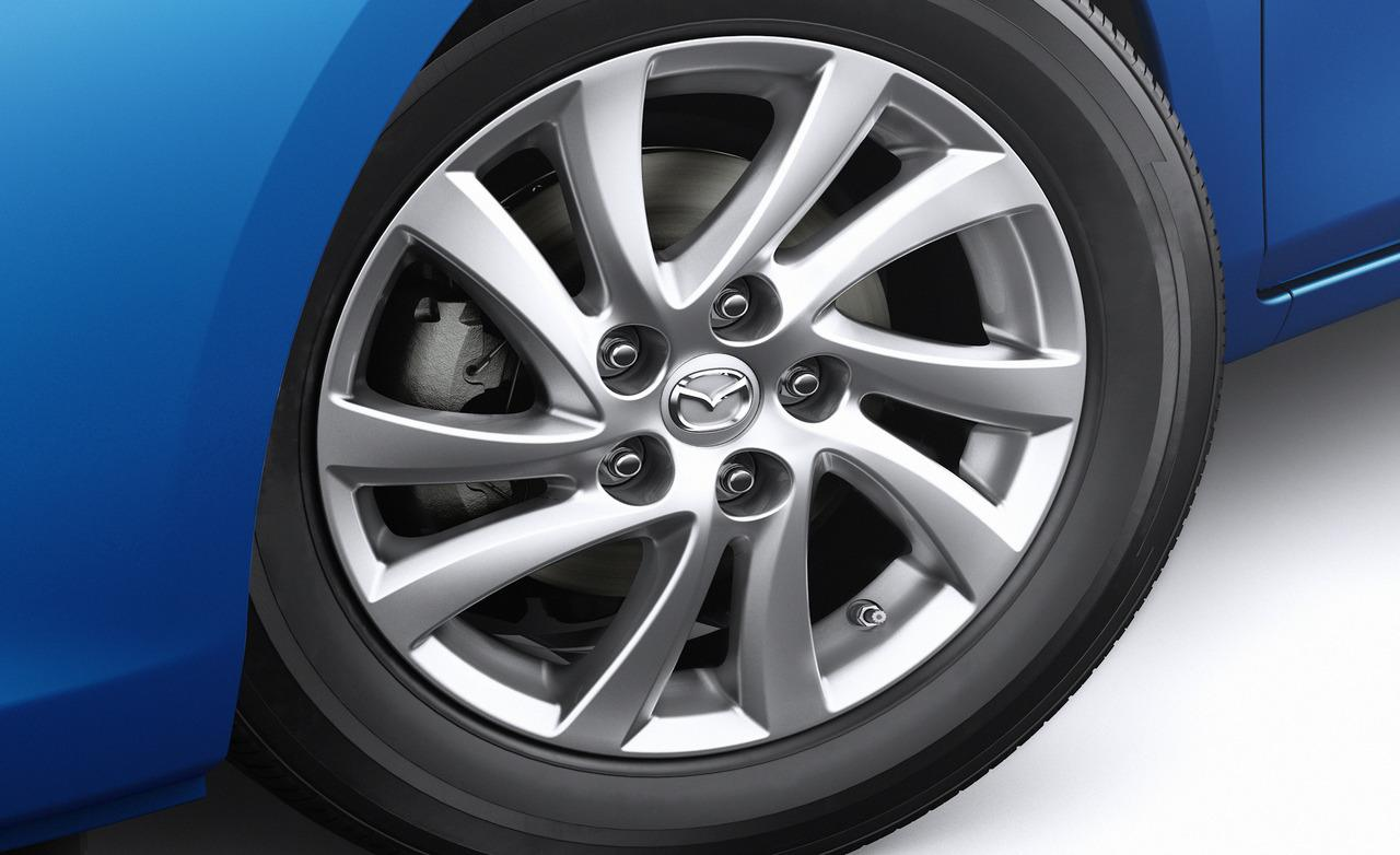 "2012 Mazda 3 16"" wheel. WALLPAPER; PRINT; RETURN TO ARTICLE"