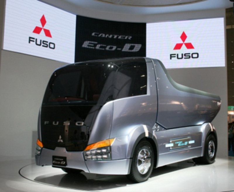 are usually reserved for sport cars, but Mitsubishi is showing you a