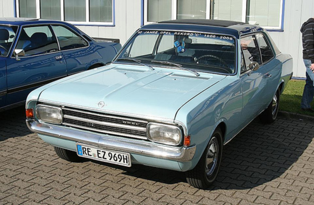 Opel Rekord 1700 Coupe 1969 - 1