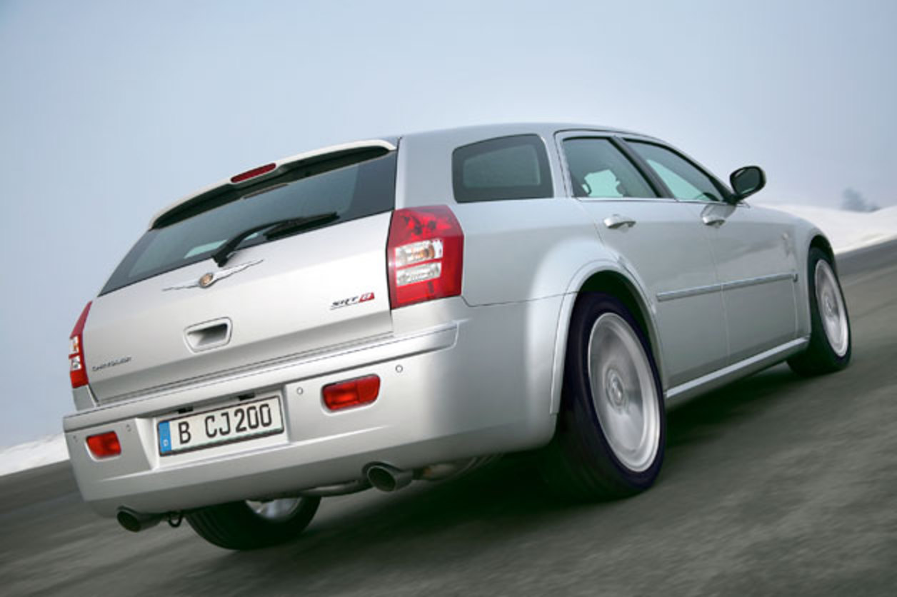 2007 Chrysler 300C SRT8 Touring Well, we can all stop hoping for a new Dodge
