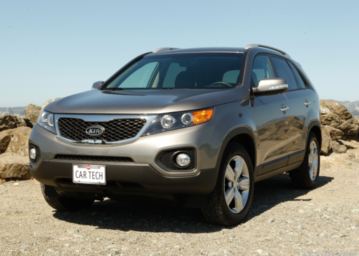2012 Kia Sorento EX (pictures) - CNET Reviews