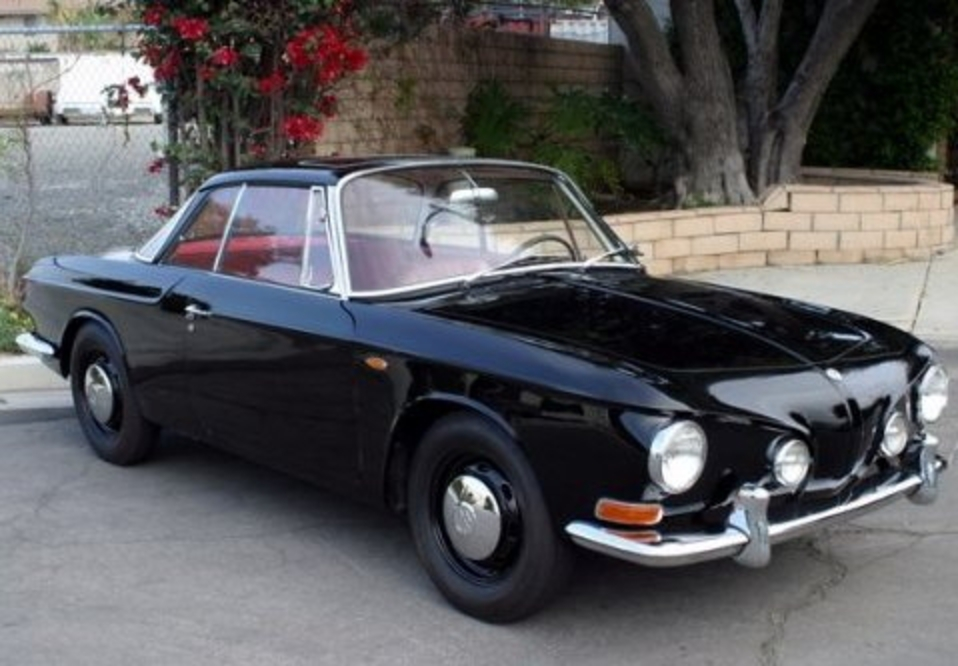 1966 Volkswagen Karmann Ghia Type-34 Sunroof Coupe Front