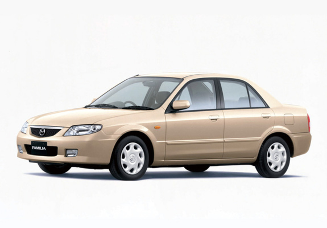 Download / Preview - Mazda Familia LS Sedan 2000–03 images (1280 x 960)