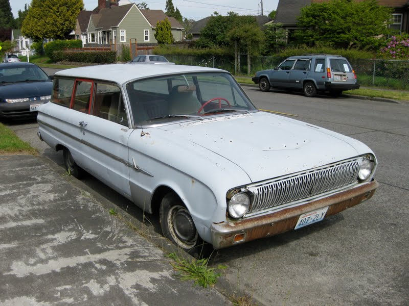 1962 Ford Falcon Wagon.