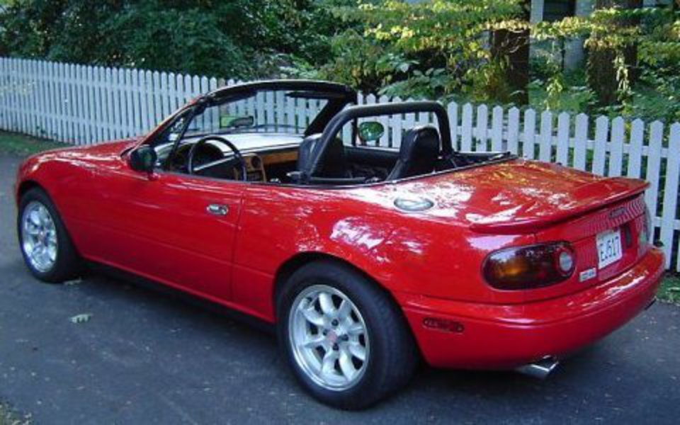 39k-Mile Stand-Out: 1992 Mazda Miata MX-5