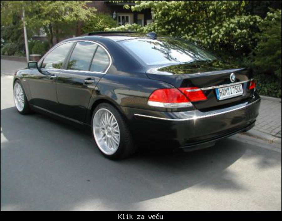 BMW 765i - huge collection of cars, auto news and reviews, car vitals,