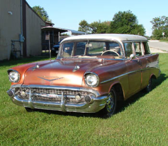 1957 Chevrolet 210 wagon. 1957 CHEVROLET 210 WAGON