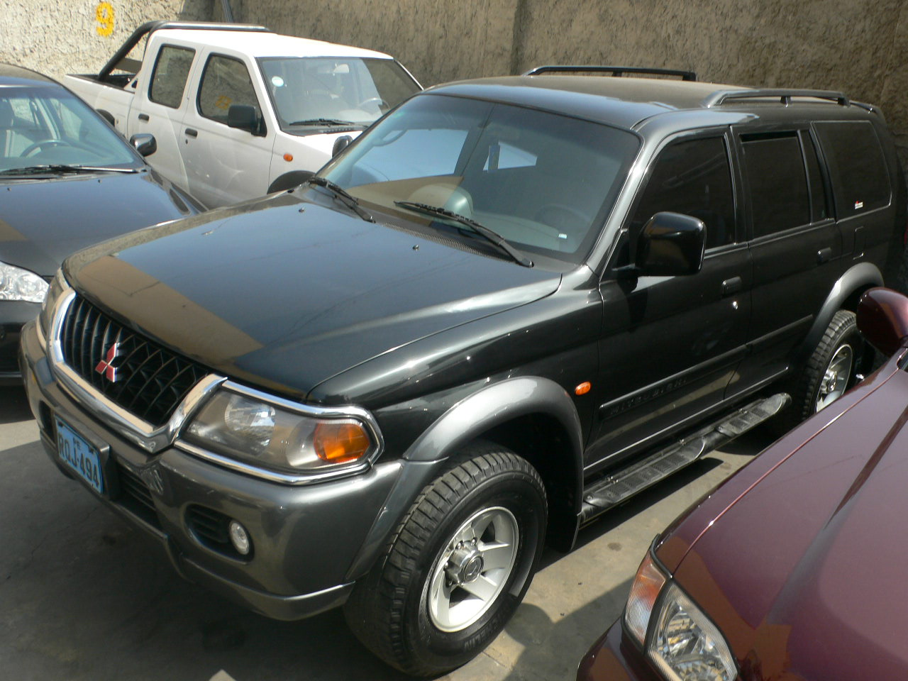 Vendo mitsubishi nativa 2002 timon original
