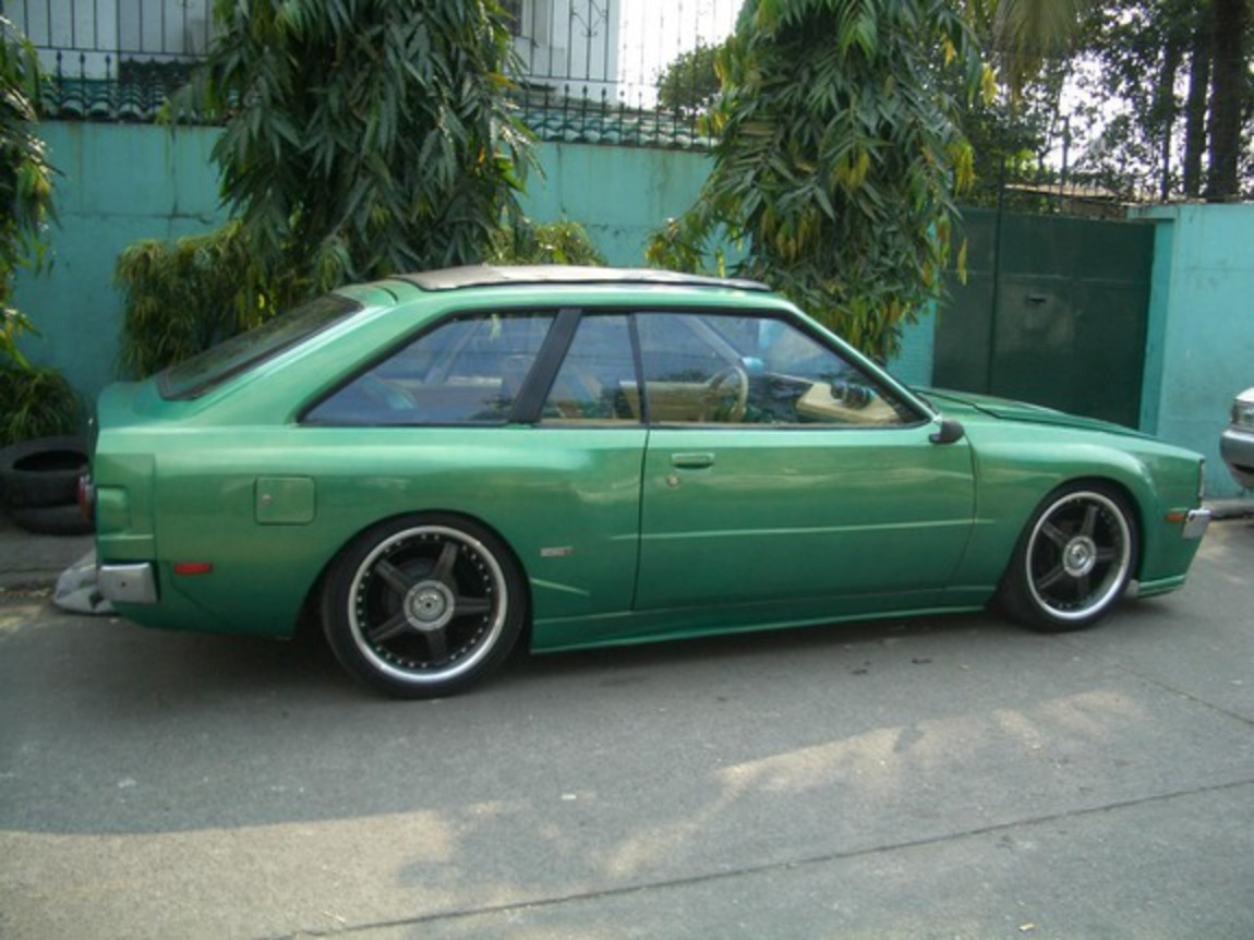 ..meet NATHALIE.. my own modified version of toyota corolla liftback.