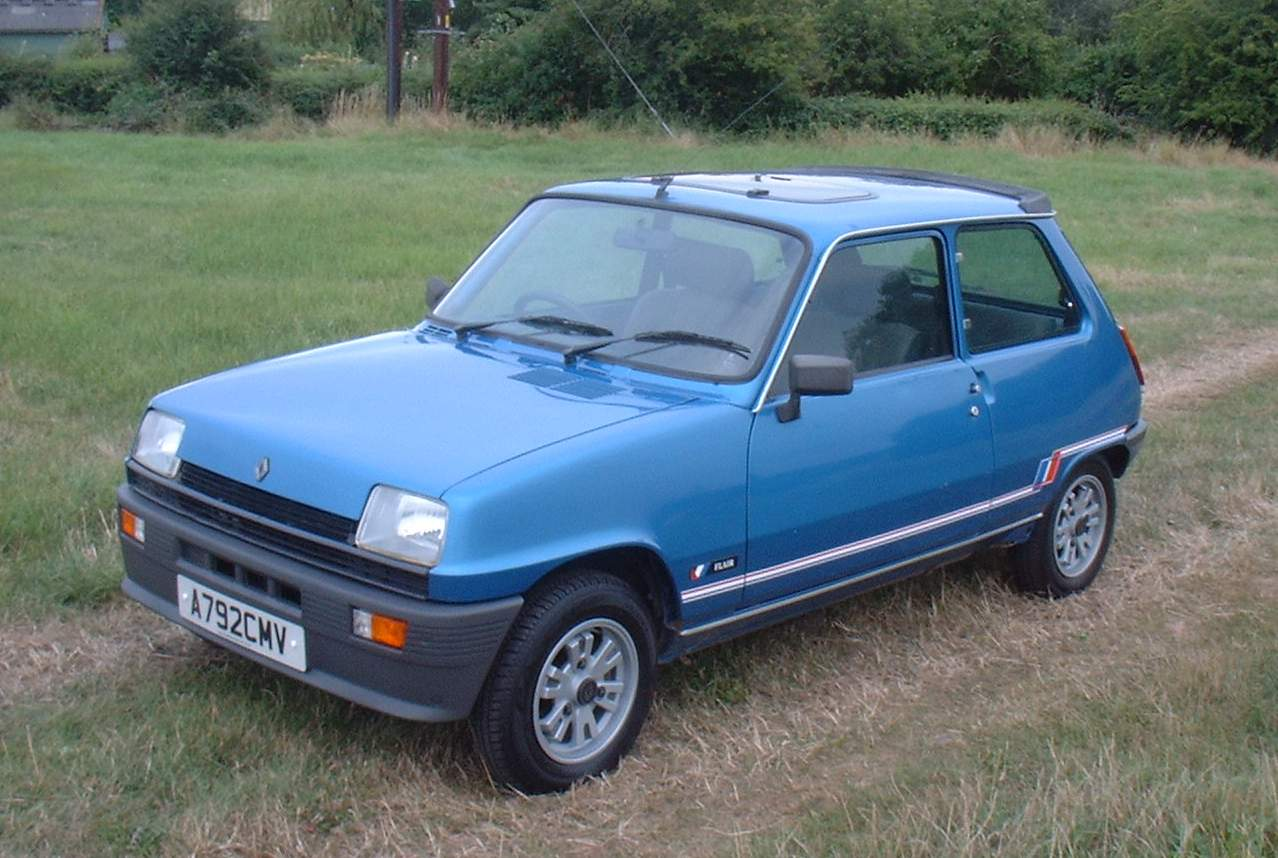 rare limited edition based on the original Mark 1 shape Renault 5 TL.