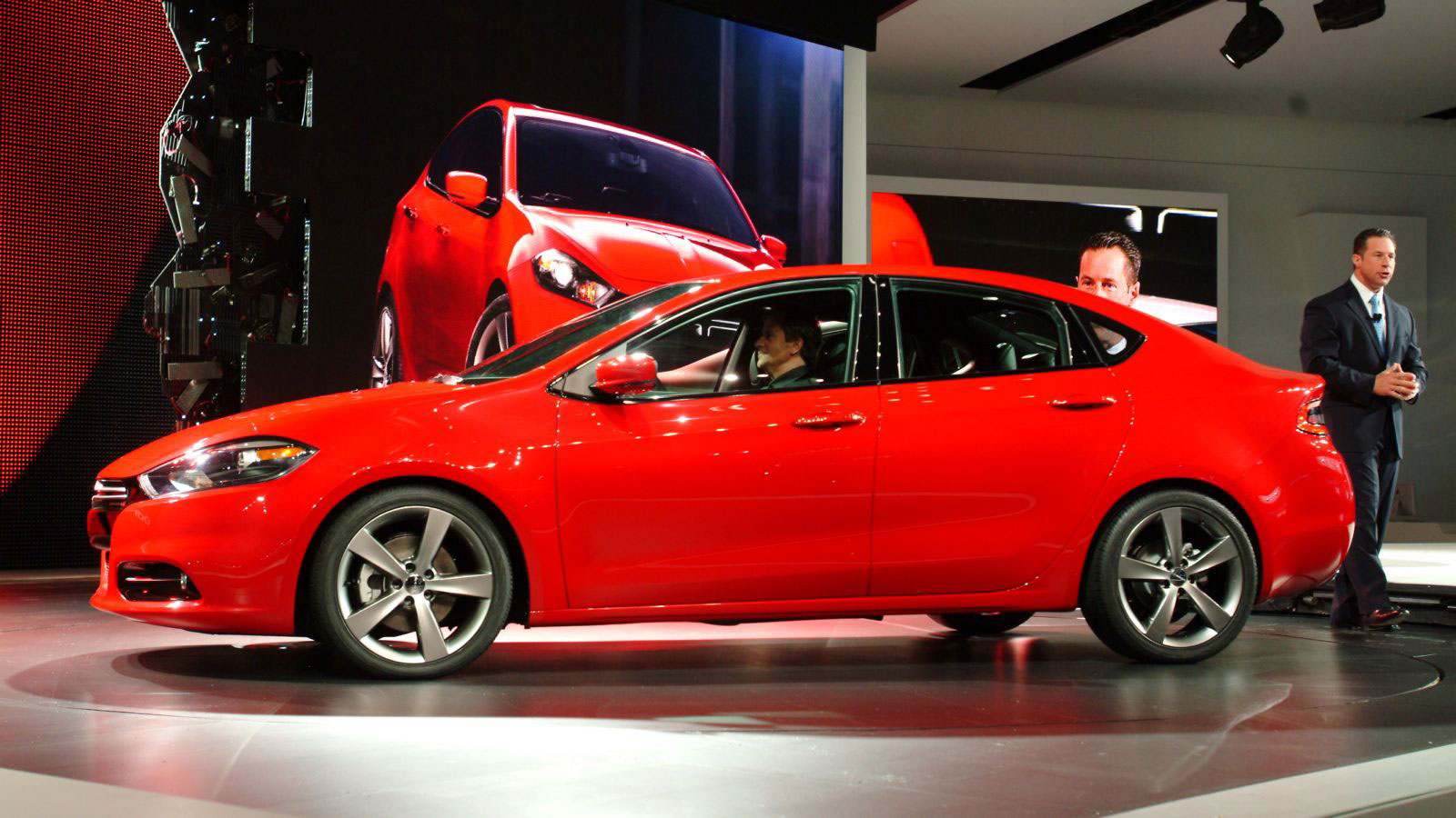 The all-new Dodge Dart, unveiled Monday at the 2012 North American
