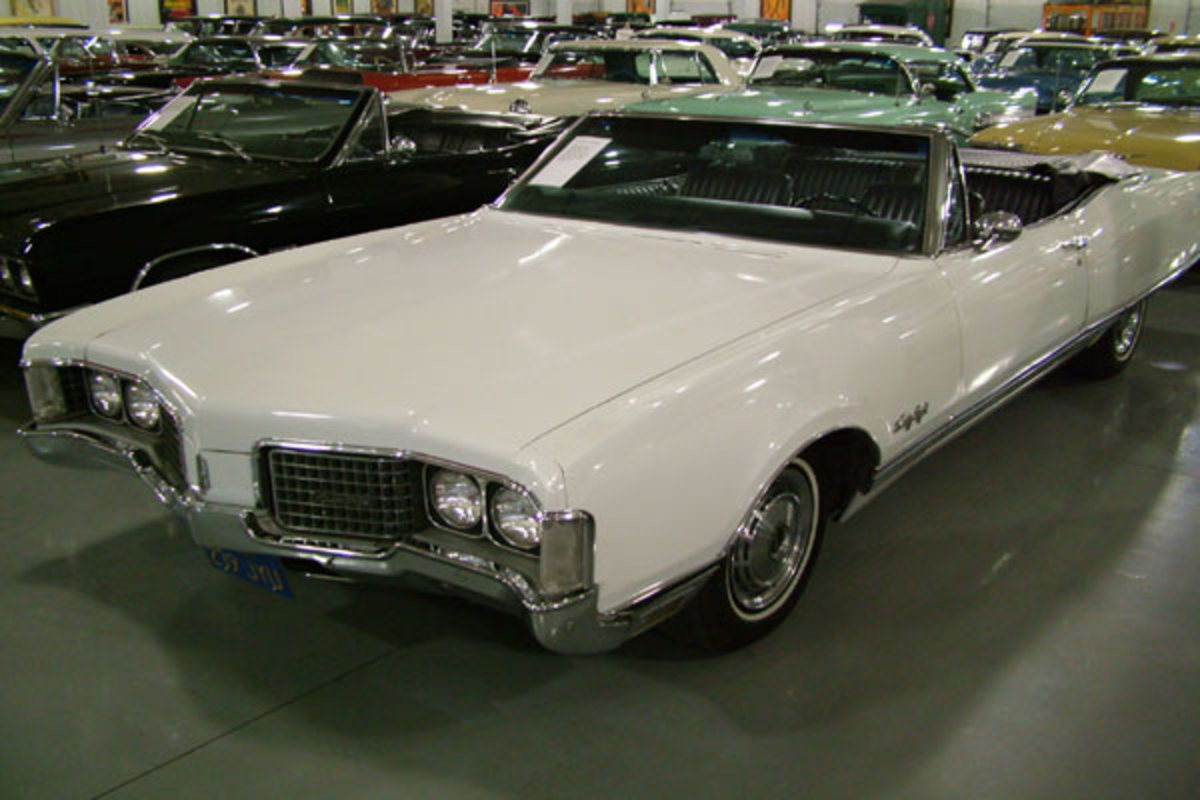 Oldsmobile 98 Convertible. View Download Wallpaper. 600x400. Comments