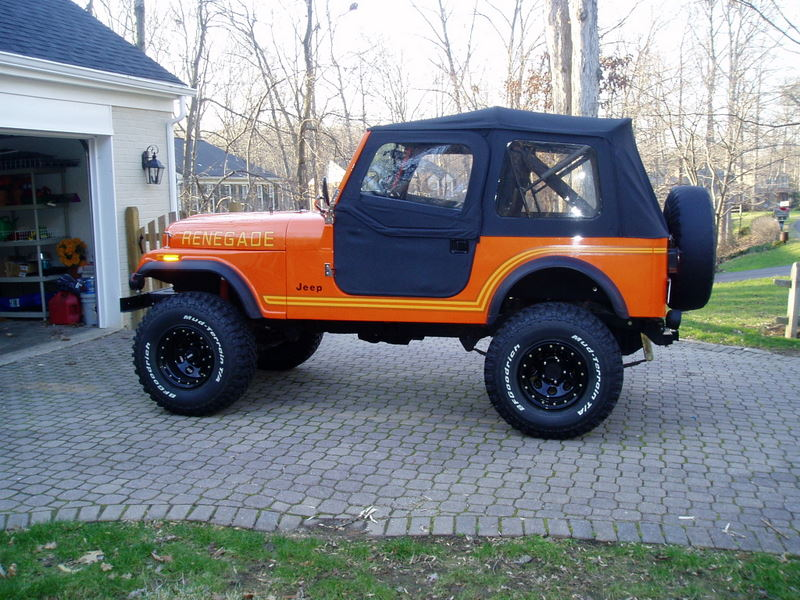 back to Jeep CJ-7's for sale.