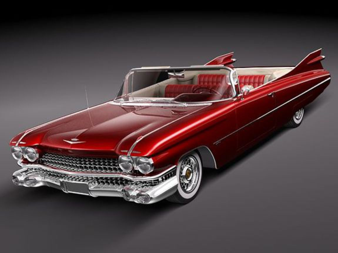 Cadillac Eldorado 62 series 1959 convertible Cart_put Add to cart