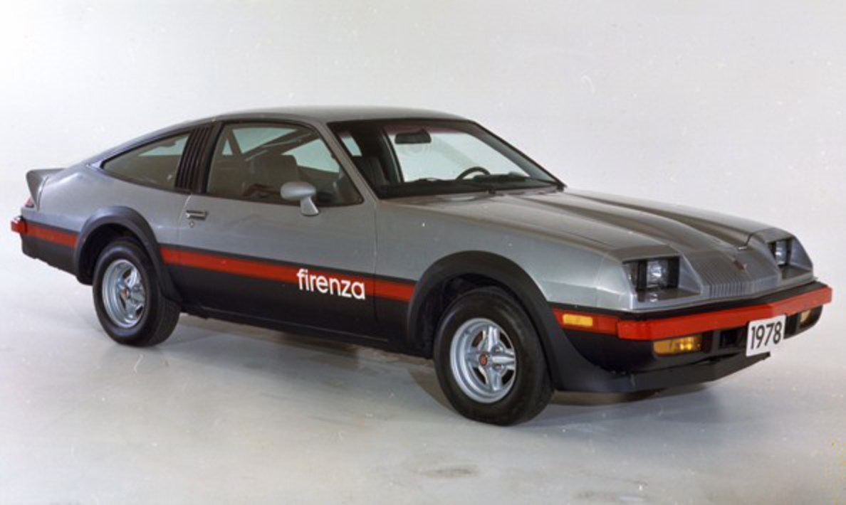 File:Oldsmobile Starfire Firenza.jpg. No higher resolution available.