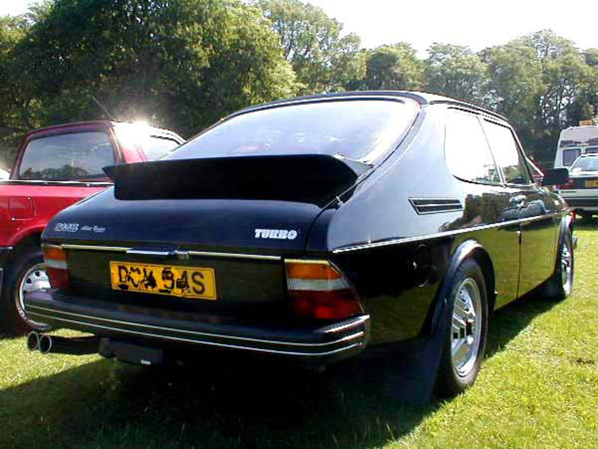 SAAB 99 turbo 3dr combi coupe photograph