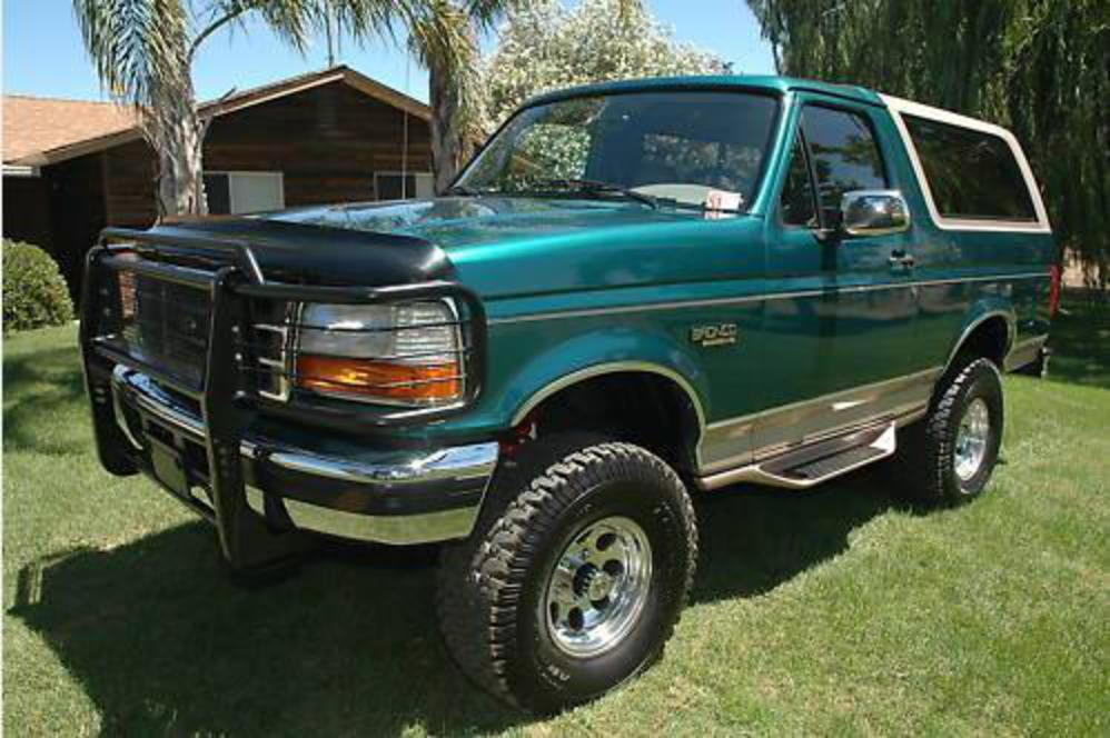 Pictures of 1996 Ford Bronco EDDIE BAUER