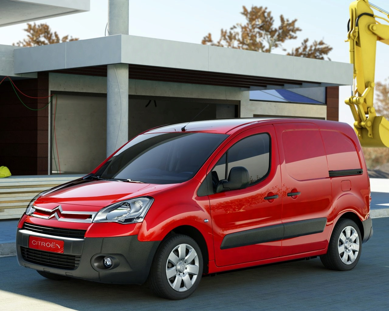citroen berlingo ute 2008 wallpaper
