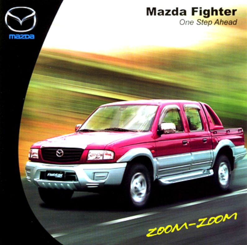 MAZDA FIGHTER. ONE STEP AHEAD