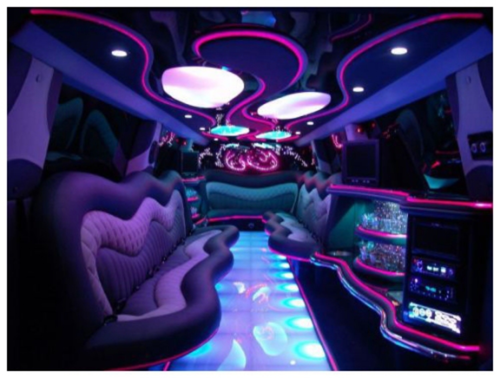 2 VIP lounges, disco floors and ceilings, some custom gull-wing doors in