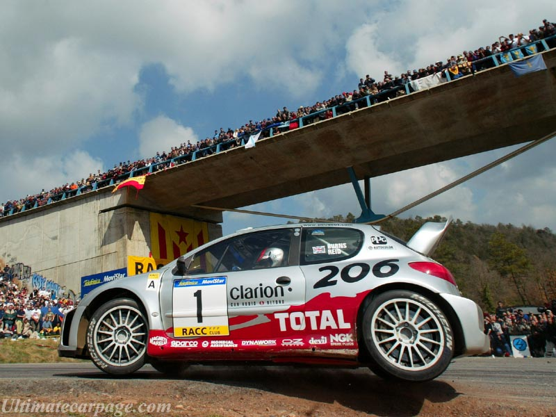 Peugeot 206 WRC - High Resolution Image (10 of 12)