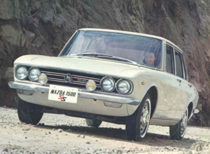 Mazda 1500. Mazda 1500. Image Source: Toyo Kogyo Co. Ltd.