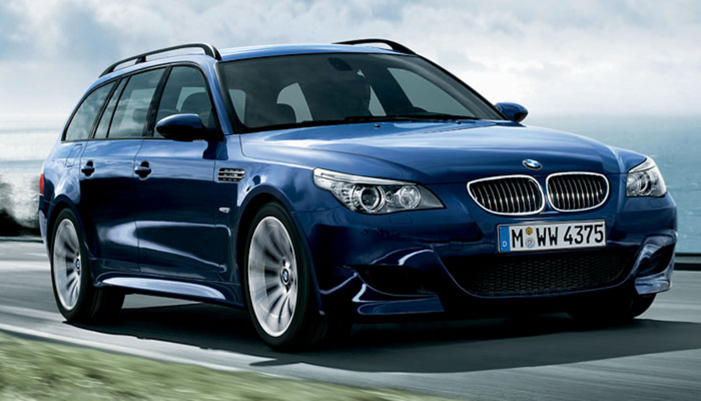 BMW M5 Touring. Together with the photos of the 5-Series Facelift,