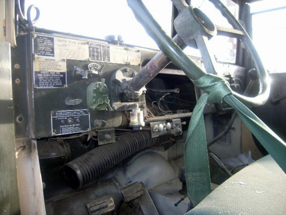 AM General M109A3, 6x6, 2 1/2 ton shop van truck, without winch ...