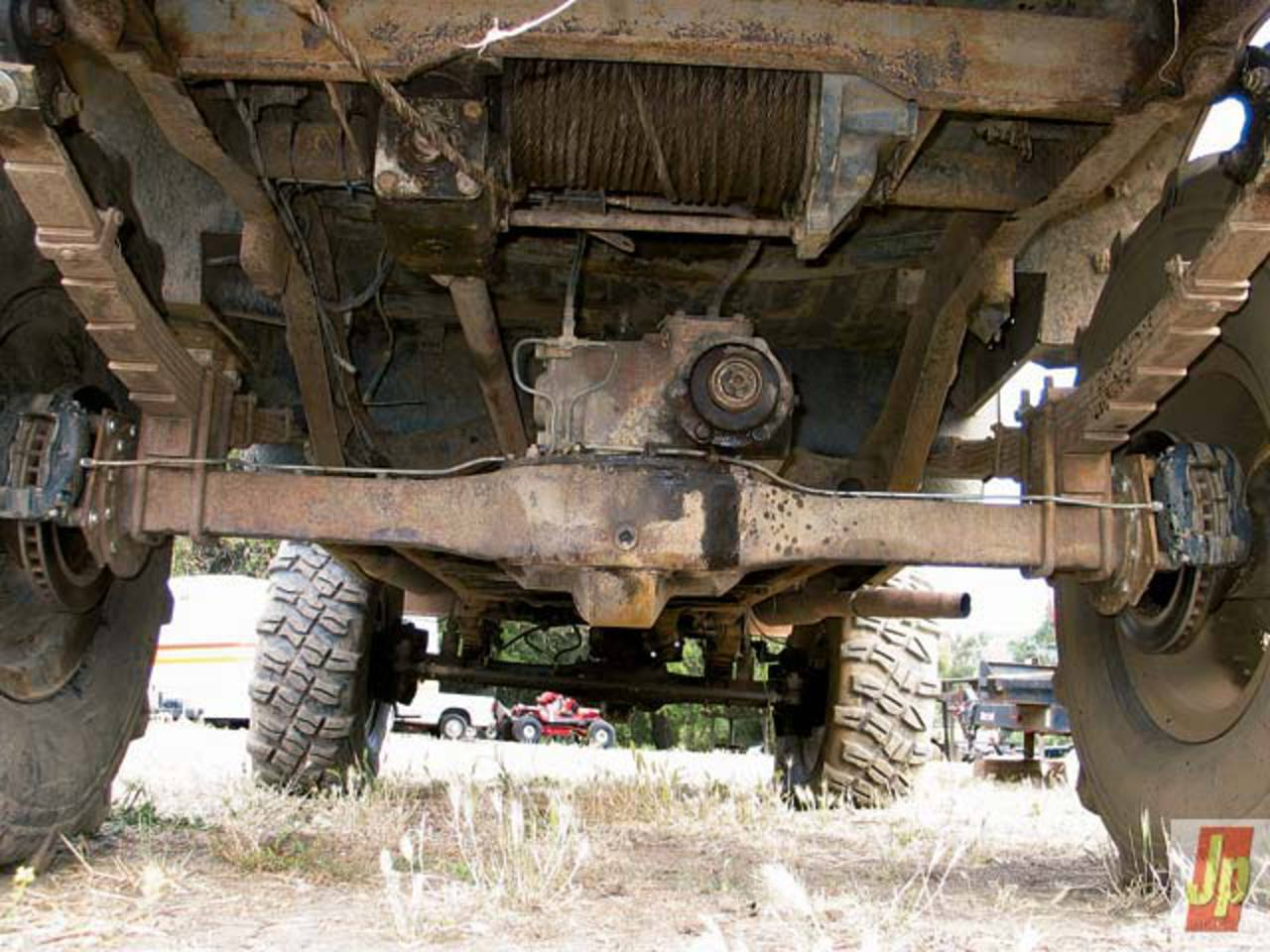 1967 Jeep M715 Axle View