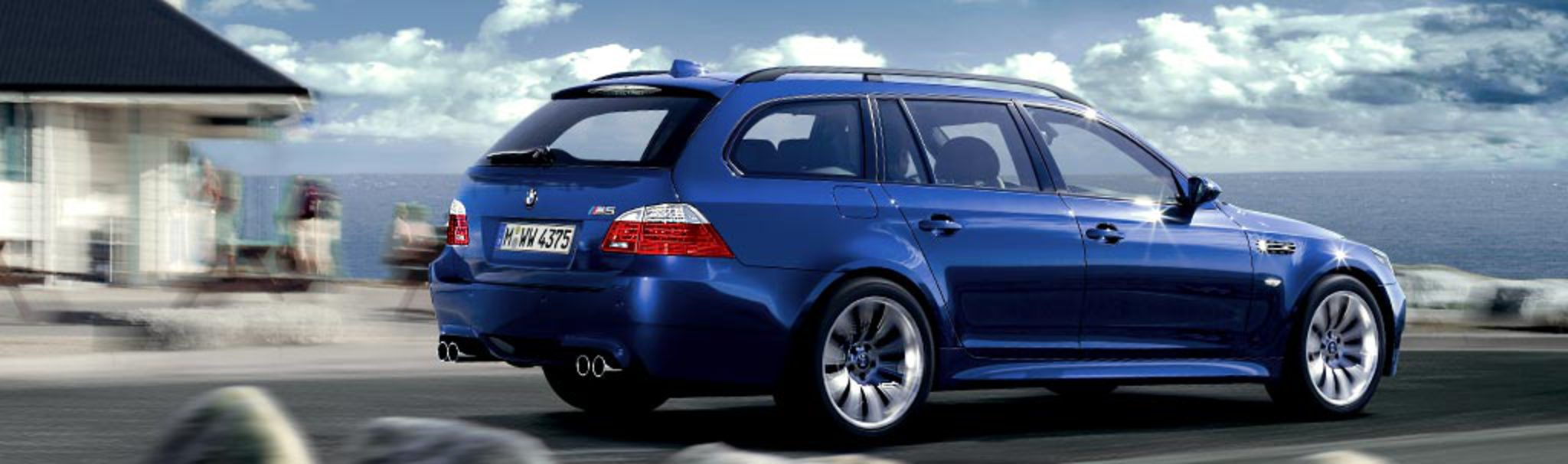 Performance weight of the BMW M5 Touring.