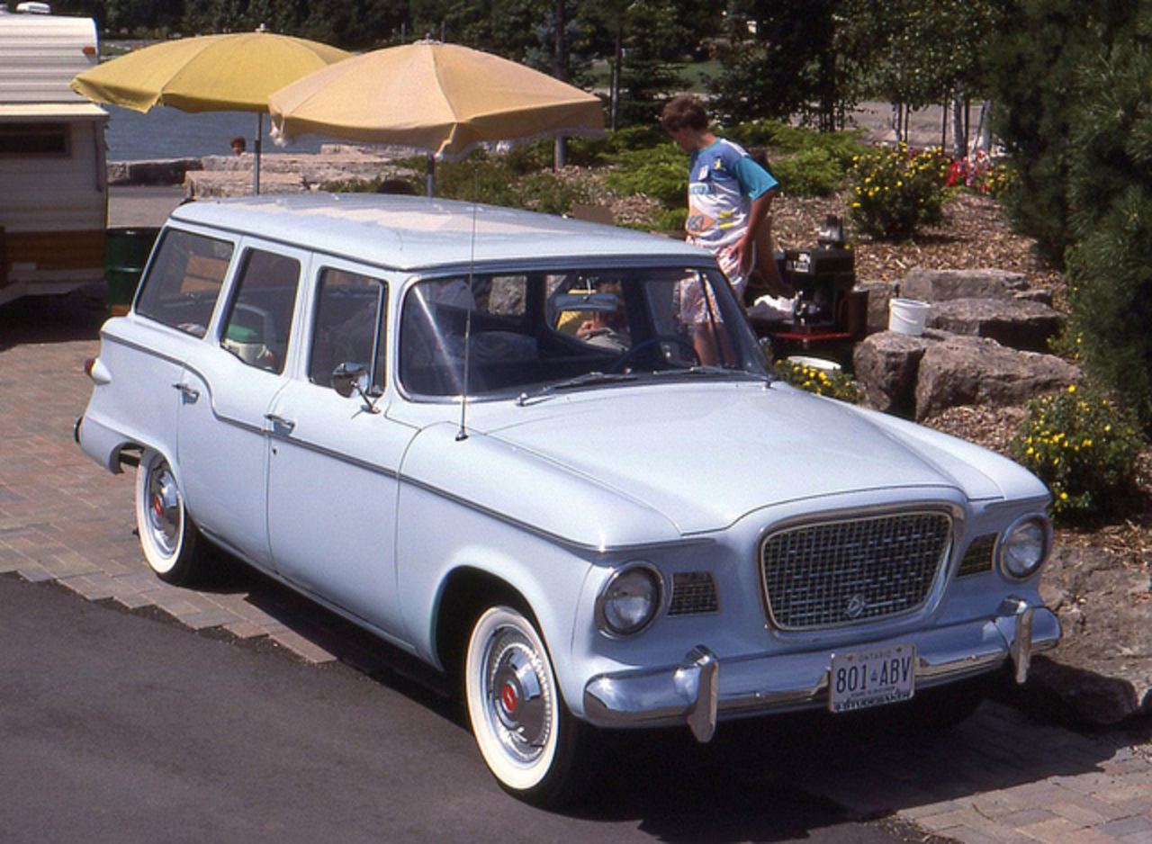 1960 Studebaker Lark VI wagon | Flickr - Photo Sharing!