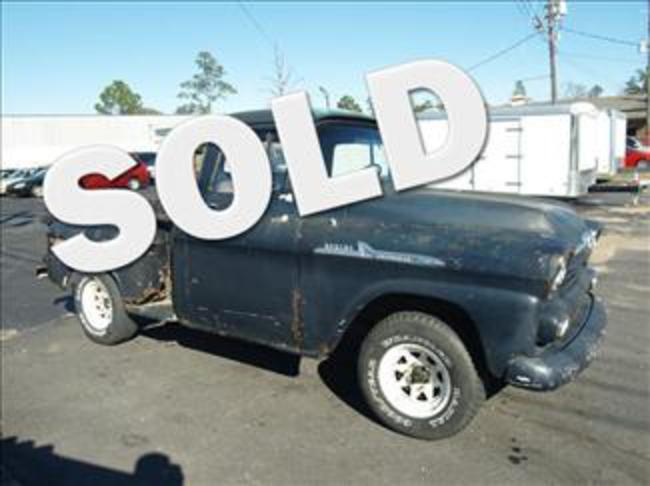 1958 CHEVROLET APACHE 31 STEPSIDE SHORT BED TRUCK ! photo 1