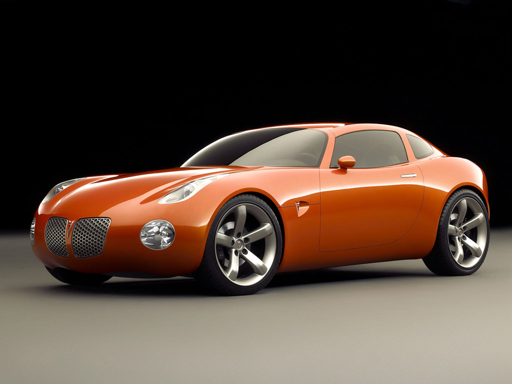 2009 Pontiac Solstice. The fact that there's a truly American roadster out