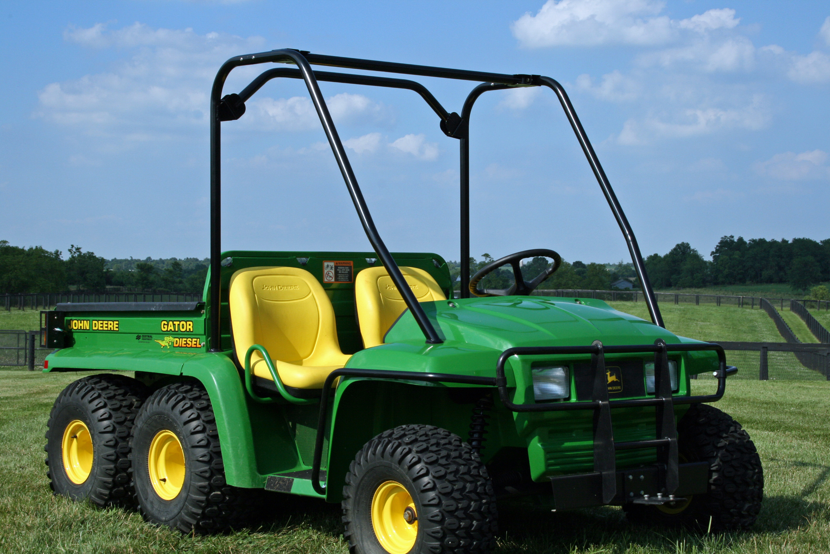 topworldauto photos of john deere gator 6x4 photo. Black Bedroom Furniture Sets. Home Design Ideas